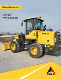 L918F Wheel Loader Brochure