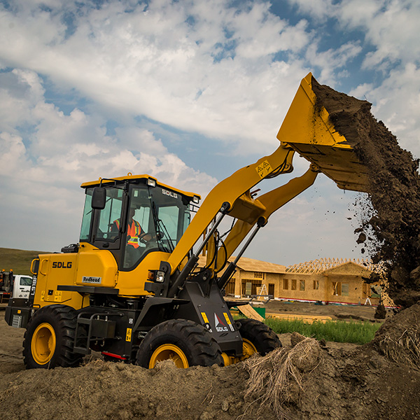 SDLG-918F-Wheel-Loader-Construction