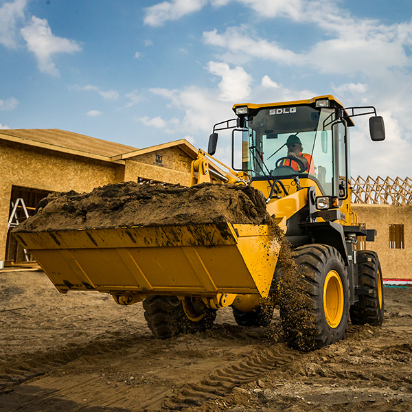 SDLG-L918F-Front-Loader-Construction