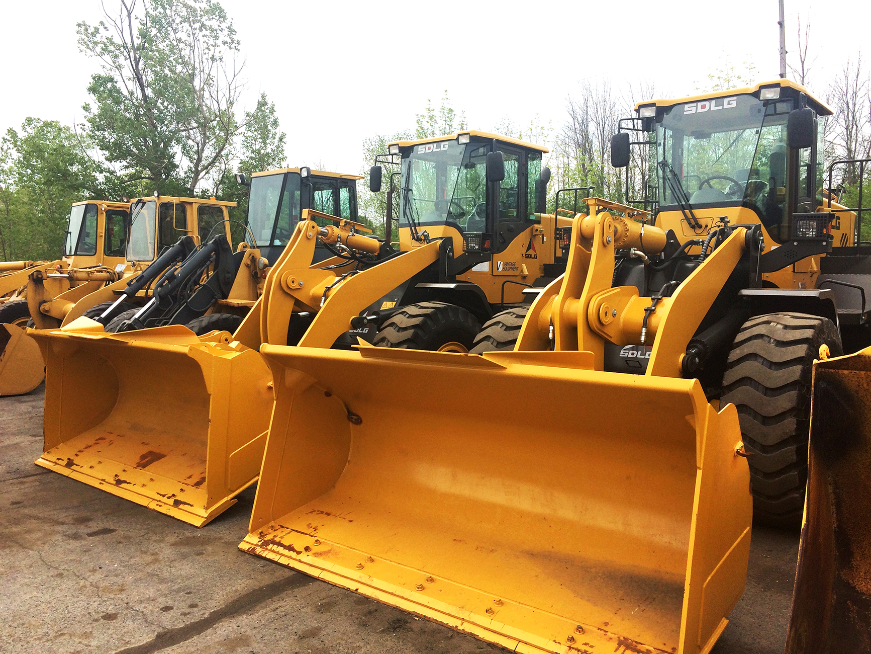 wheel loaders front end loaders sdlg north america